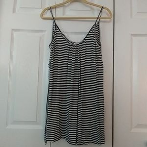 ADORABLE! ~O'NEILL~ STRIPED SIDE TIE TUNIC TOP